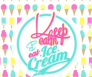 ice, ice cream, and screen image