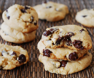 Cookies, delicious, and chocolate image