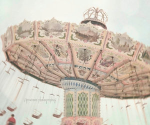pink, vintage, and carnival image