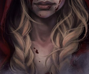 blood and art image
