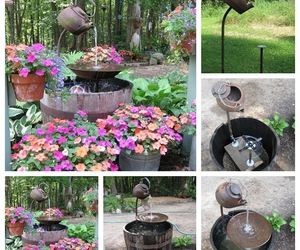 diy, fountain, and garden image