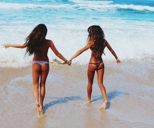 beach, exotic, and girlfriends image