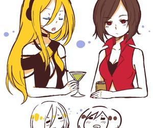 lily, vocaloid, and meiko image