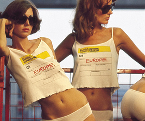 europe, girl, and vintage image