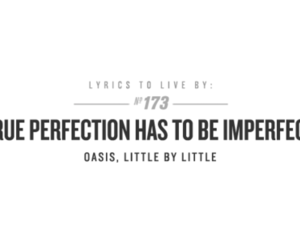 oasis, little by little, and Lyrics image