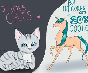 cool, unicorns, and cas image
