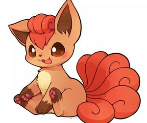 pokemon, vulpix, and cute image