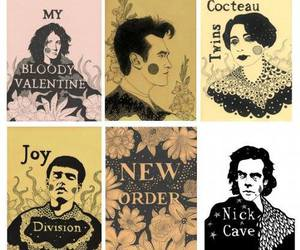 joy division, nick cave, and cocteau twins image
