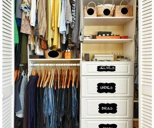closet and diy image