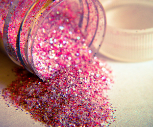 bottle, glam, and pink image