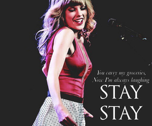 Taylor Swift, taylor swift poster, and stay stay stay image