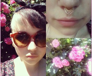 body modification, septum ring, and body jewelry image