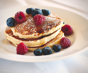 pancakes and delicious image