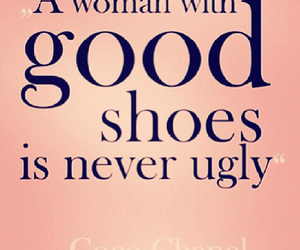 coco chanel, quote, and shoes image