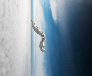 astronaut and sky image