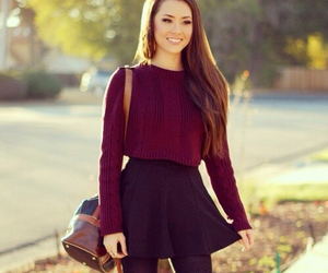 fashion, skirt, and girl image