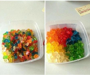 colors and gummy bears image