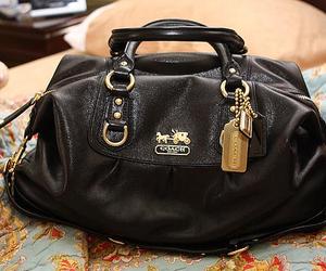 coach, bag, and fashion image