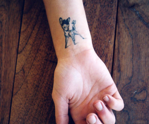 tattoo, bambi, and disney image