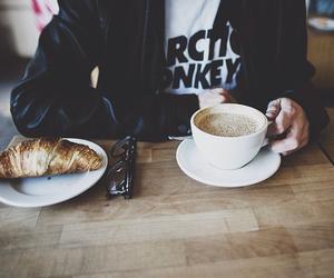 coffee, arctic monkeys, and grunge image