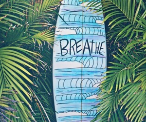 summer, surf, and breathe image
