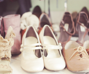 shoes, vintage, and pretty image