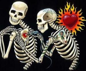 art, tattoo, and heart image