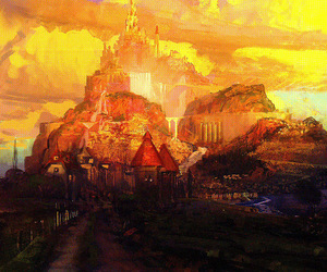 concept art, disney, and tangled image