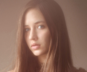 beauty, model, and face shot image