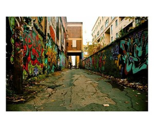 alley, art, and graffiti image