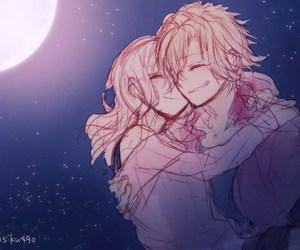 anime, diabolik lovers, and komori yui image