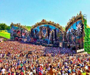 Tomorrowland, music, and tomorrowland 2014 image