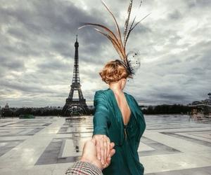 paris, france, and follow me image