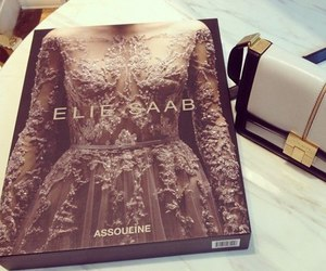bag, dress, and haute couture image