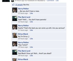 facebook, harry potter, and sirius black image
