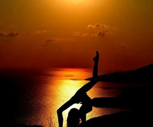 sunset, flexibility, and flexible image