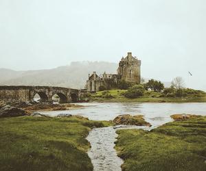 nature, castle, and landscape image