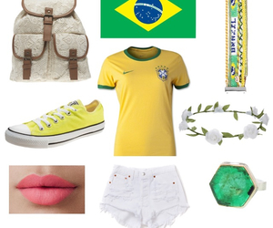 brazil, yellow, and converse image