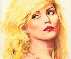 art, blondie, and Pin Up image
