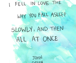 love, john green, and quote image