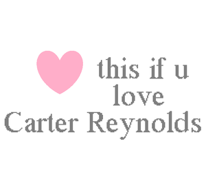 camerondallas, love, and carter reynolds image