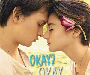 couple, Shailene Woodley, and the fault in our stars image