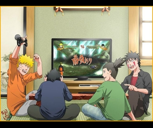 kiba, naruto, and sasuke image