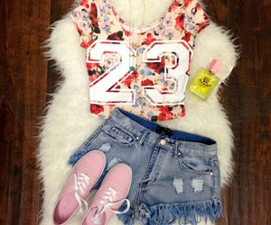floral and outfit image