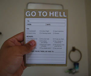 funny, helll, and hell image