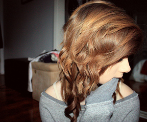 girl, hair, and beccers image