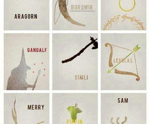 aragorn, frodo, and gandalf image
