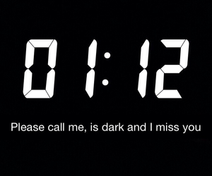 miss you, night, and please image