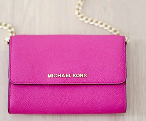 hot pink and sling bag image