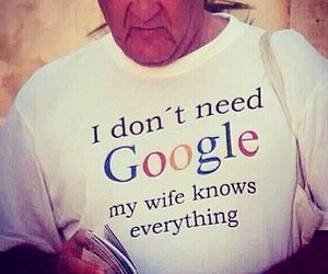 google and wife image